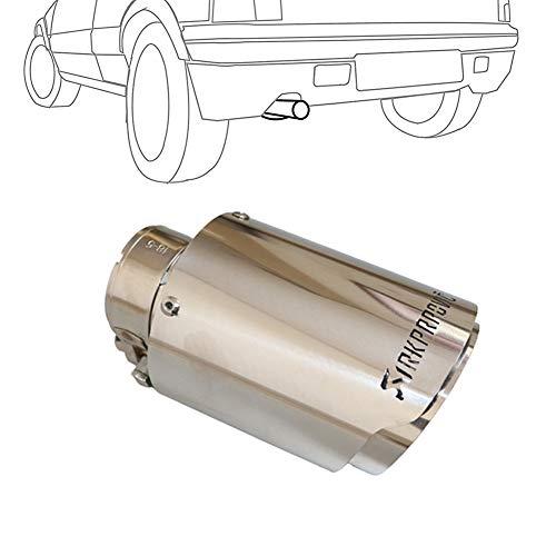 WESEEDOO Colas De Escape Escape Coche Tubos De Escapes Cola De Acero Inoxidable Universal Silenciador Tubo del Silenciador del Coche 63mm-89mm