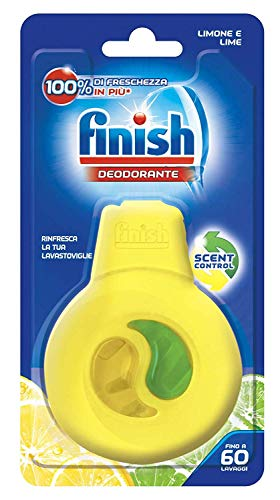 Finish Deodoranti per Lavastoviglie, Profumo di Limone