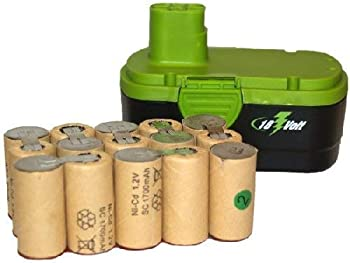 15 pcs  1 Pack  x 18 Volt Sub C 1700 mAh NiCd Batteries  Ideal for Pack Assembly