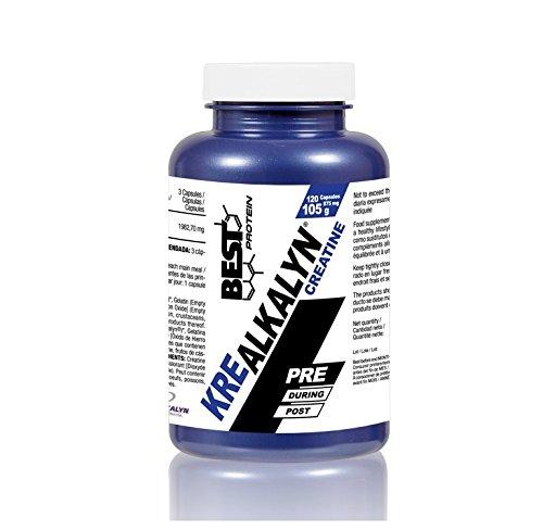 Best Protein KRE Alkalyn - 120 Cápsulas