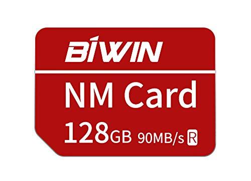 Huawei NanoMemory Memory Card 128GB NM Card NM-Speicherkarte, bis zu 90 MB/s, kompatibel mit Huawei P30 / P30 Pro/Mate X/Mate Xs