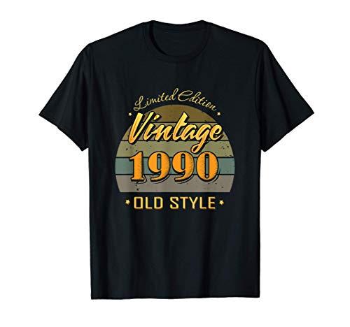 31 anni 31esimo compleanno decorazioni vintage 1990 Maglietta