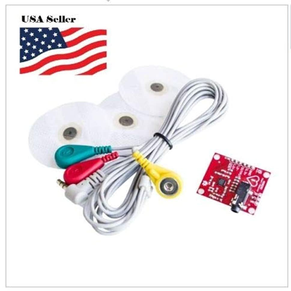 ECG Module AD8232 ECG EKG Pulse Heart ECG Monitoring Sensor Module kit