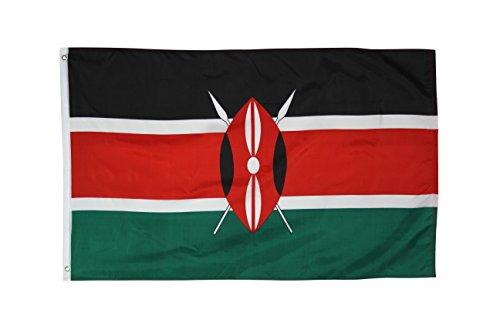 Kenia 0.91 meters x 1.52 meters bedrucktem Polyester-Flagge