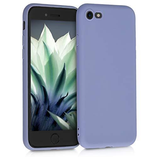 kwmobile Hülle kompatibel mit Apple iPhone 7/8 / SE (2020) - Handyhülle - Handy Hülle in Lavendelgrau matt