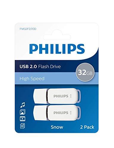 Unità flash USB Philips Snow Edition 32 GB, USB 2.0, confezione da 2