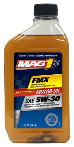 MAG1 61790 Full Synthetic 5W-30 SN Motor Oil - 1 Quart Bottle
