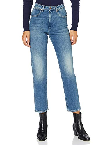 Wrangler MOM Jeans, Arena Storm, 28W x 32L para Mujer