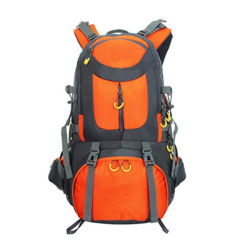 Desconocido Mochila de Senderismo y Montaña 40L (naranja)