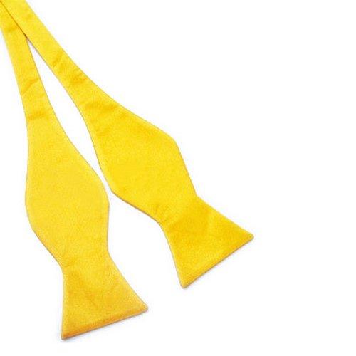 Cravate Noeud Papillon Nouveau Pour Hommes Solide Couleur Soie Couleurs Au Choix (27)