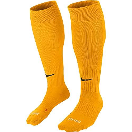 Nike U NK Classic II Cush otc-team Unisex Socken, Mehrfarbig (University Gold / Black), 38-42 (Herstellergröße : M)