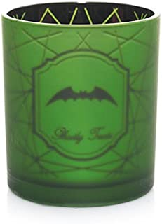 Yankee Candle Spider Web Collection Flickering Green Bats Votive Candle Holder