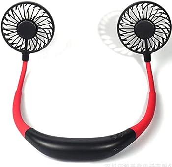 Supkey Rechargeable Mini USB-C Personal Neckband Fan