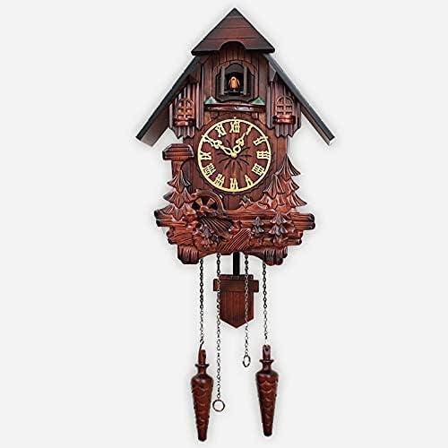 YZJC Vintage European Cuckoo 5 popular Clock Ar Large Pendulum Max 80% OFF Room Living