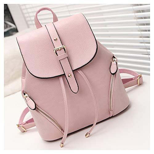 BAFEYU Women Backpack Waterproof Anti-theft Lightweight PU Leather Fashion Travel Backpack Ladies Flap Daypack