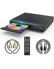 DVDプレーヤー CPRM対応&リージョンフリー プレイヤー 1080P HDMI&AVサポート(ケーブル付き)USB2.0出力可能
