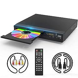 Image of DVD Player with HDMI AV...: Bestviewsreviews