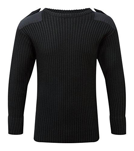Castle Clothing - Maglione - Uomo nero Black L