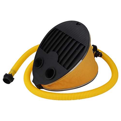 FOLOSAFENAR Bomba de pie para Bote Inflable Diseño de Bomba de pie Que Ahorra Trabajo Ligero, para Accesorio de Canoa de Kayak