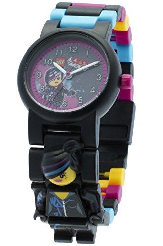 LEGO Unisex-Armbanduhr Movie Wyldstyle Analog Quarz Plastik 8020233