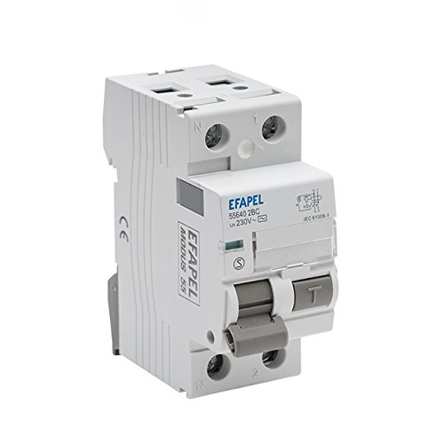 Efapel modus 55 - Interruptor diferencial 2 polos 300ma clase -ac 40a modus