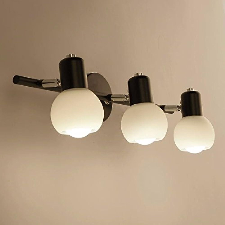 StiefelU LED Wandleuchte nach oben und unten Wandleuchten Spiegel vordere Lampe Spiegel lampe Badezimmer Badezimmer Spiegelschrank Badezimmer Waschtisch LED Wandleuchte, 3 Leiter