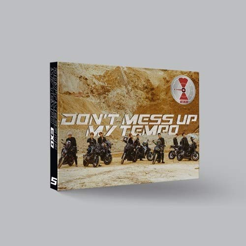 SM Entertainment Exo Don't Mess UP My Tempo [Moderate Ver.] (Vol.5) CD+Booklet+Photocard+Pre-Order Benefit+Folded Poster+Extra Photocards Set