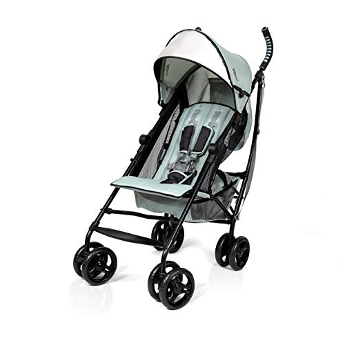 Summer 3Dlite Convenience Stroller, Eucalyptus – Lightweight Stroller with...