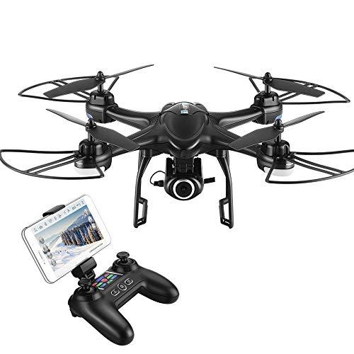HOBBYTIGER H301S Ranger Drone with Camera Live Video and GPS Return Home...