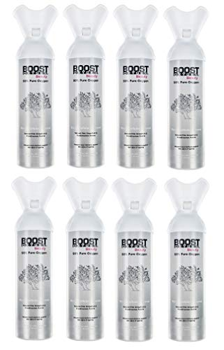 Boost Oxygen Beauty 6L, 98% Pure Oxygen, Over 100 uses, Fresh and Trendy, Rejuvenates & Repairs - (8) Pack