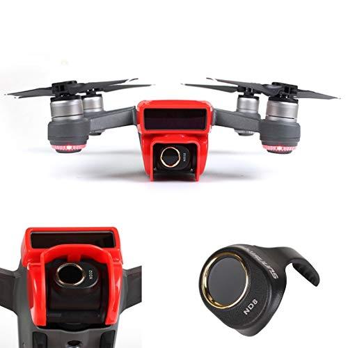 YHMC JTJ ADDC HD Drone Lens Filter for DJI Spark (Color : Color2)