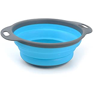 Customer reviews 2PC Silicone Basket Kitchen Tool Sink Drain Rack Treatment Of Fruits And Vegetables Basket Cover:Eventmanager
