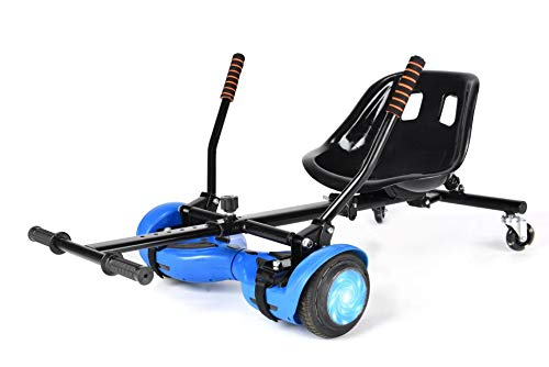 Hoverkart with Shock Absorber for 6.5inch 8inch 10inch Hoverboard Accessory...