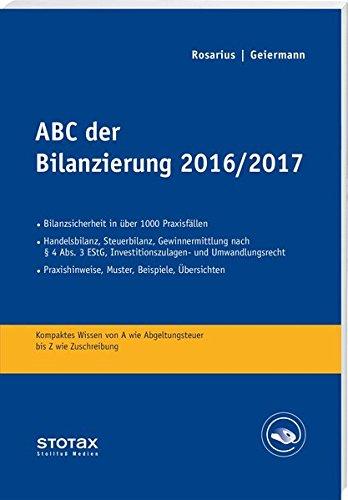 ABC der Bilanzierung 2016/2017