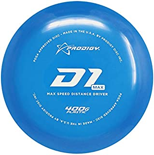 Prodigy Disc 400G Series D1 Max Distance Driver Golf Disc [Colors May Vary]