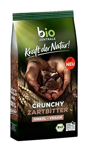 bioZentrale Müsli Crunchy Zartbitter Bio | 375g knuspriges Bio Müsli | Ideal zum Frühstück | ohne Palmöl, 10105