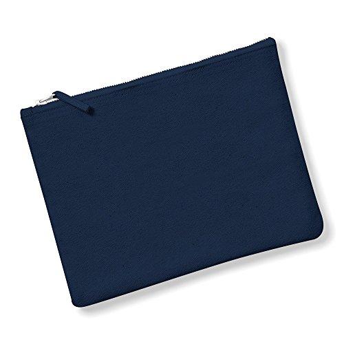 Westford Mill Canvas Stoffbeutel/Tasche/Kosmetiktasche (M) (Marineblau)