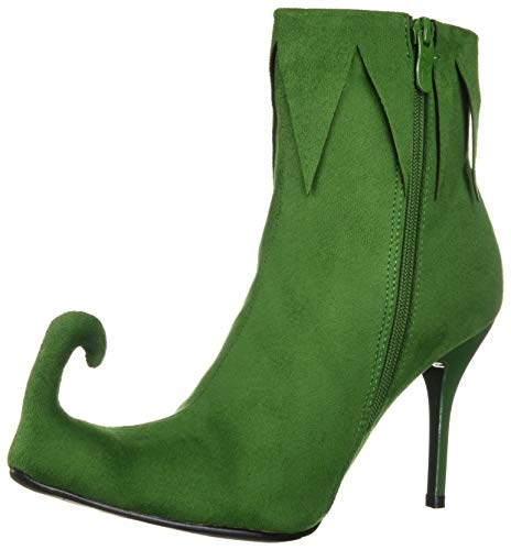 Ellie Shoes Women's Green Elf Boots Size 4