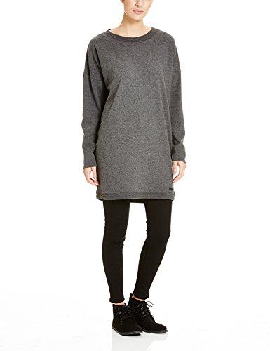 Bench Damen Kleid Token, Grau (Dark Grey Marl GY006X), 40 (Herstellergröße: L)