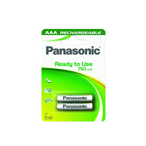Pilas Recargables Aaa Panasonic Marca Wentronic