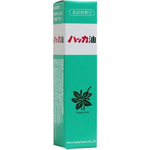 【10本セット】 北見ハッカ通商 ハッカ油ビン 10ml スプレー×10本(100ml)