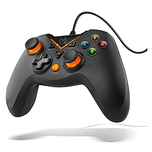 KROM, Key, NXKROMKEY, Gamecontroller, Gamepad, mit Hintergrundbeleuchtung, Farbe: schwarz