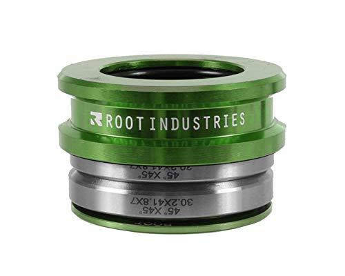 Root Industries Air hoch Stack integriertem versiegelt Scooter Headset, grün