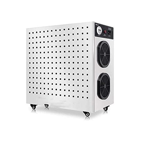 AITAOZI Purificador y generador de ozono, ionizador y desodorizante para filtros de hasta, Carbono y fotocatalíticos, con luz UV y generador de Iones Negativos