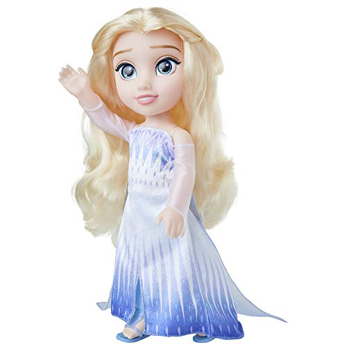 Frozen 2 Elsa Doll In Ionic Epilogue Outfit, Pair of Shoes and earrings Included - 14-Inch Elsa Doll - Perfect Doll for Any Frozen 2 Elsa Fan! For Girls Ages 3+