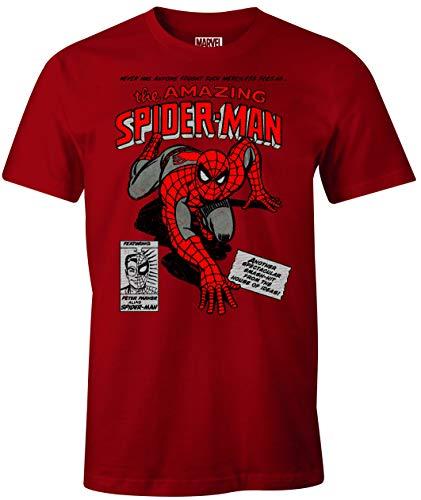 cotton division MEMARCOTS100 Camiseta, Rojo, L para Homb