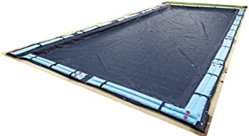 Blue Wave Bronze 12-ft x 24-ft Rectangular In Ground Pool Winter Cover