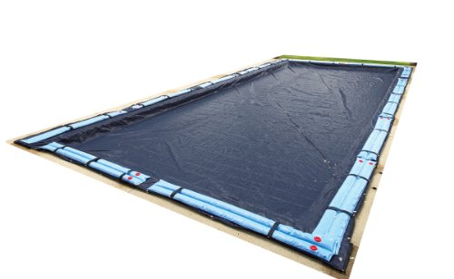 Blue Wave Bronze 8-Year 25-ft x 45-ft Rectangular In Ground Pool Winter Cover
