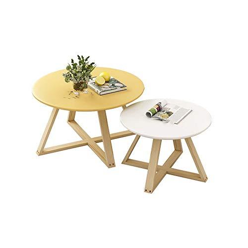 Desk XIAOLIN salontafels ronde zijtafels moderne eindtafels occasionele Nesting tafels balkon woonkamer Set van 2