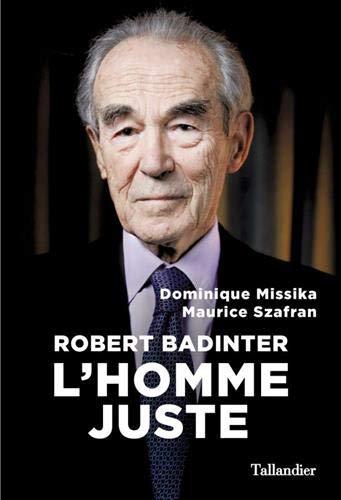 Robert Badinter: L'homme juste